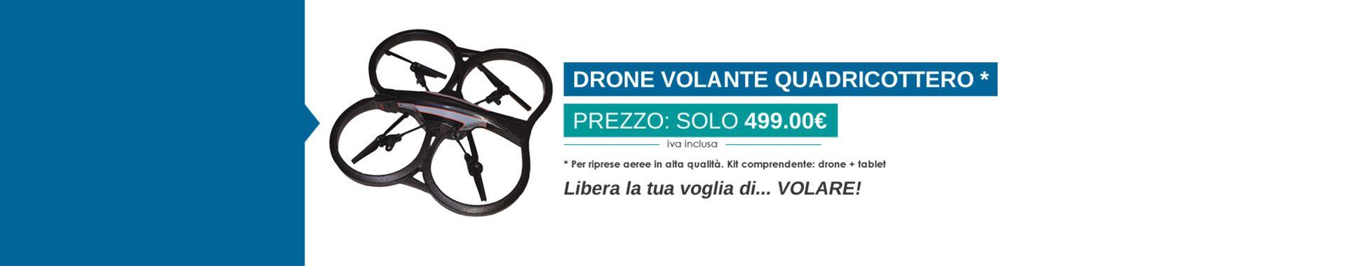 Drone a soli 499,00€