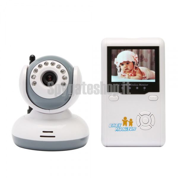 spygate spy shop brescia baby monitor con monitor lcd. Black Bedroom Furniture Sets. Home Design Ideas
