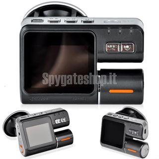 Immagine di Doppia telecamera da auto con audio