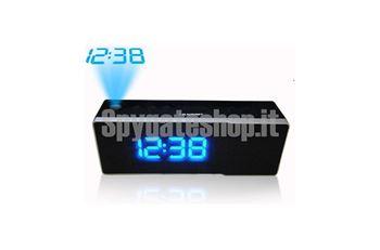 Immagine di Orologio radio blaupunkt con microcamera audio/video